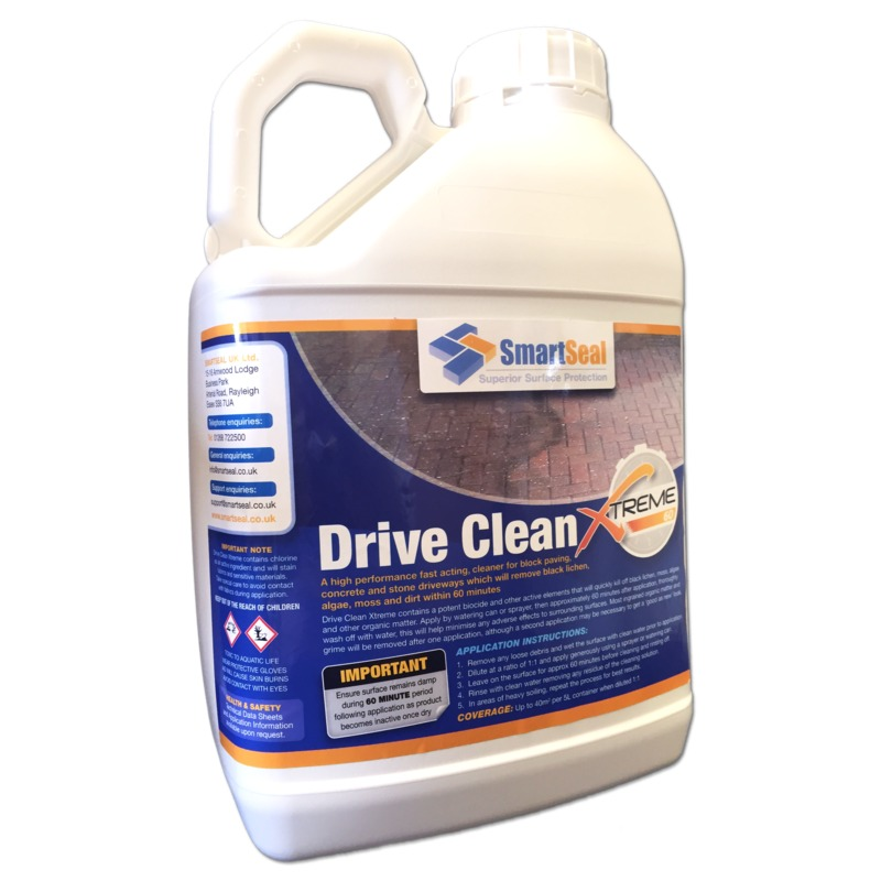Powerful surface cleaner for driveways smartseal for Driveway cleaning chemicals