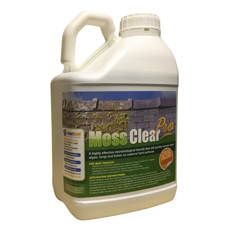 Moss Remover To Kill Moss Mould And Algae On Paving And