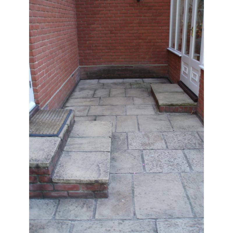 ... Patio Sealer For Pre Cast Concrete Slabs And Flagstones Smartseal ...