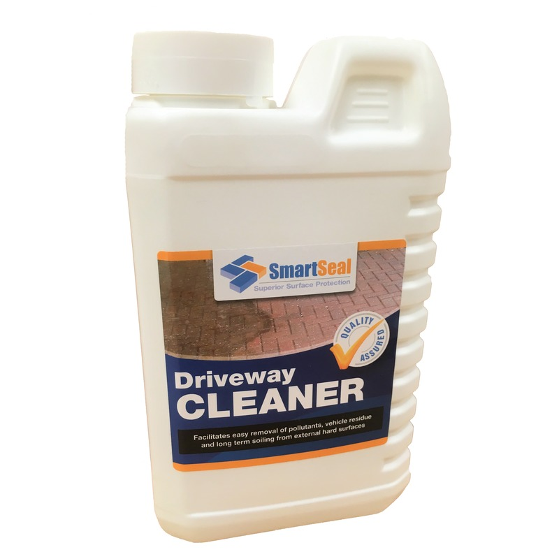 Driveway cleaner for block paving concrete and natural for Organic concrete cleaner