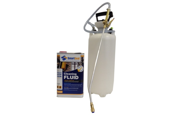 Re-Usable Sprayer with Tools Cleaning Fluid