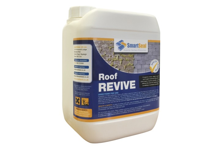 Moss Remover For Concrete Slate And Clay Roofs Tiles