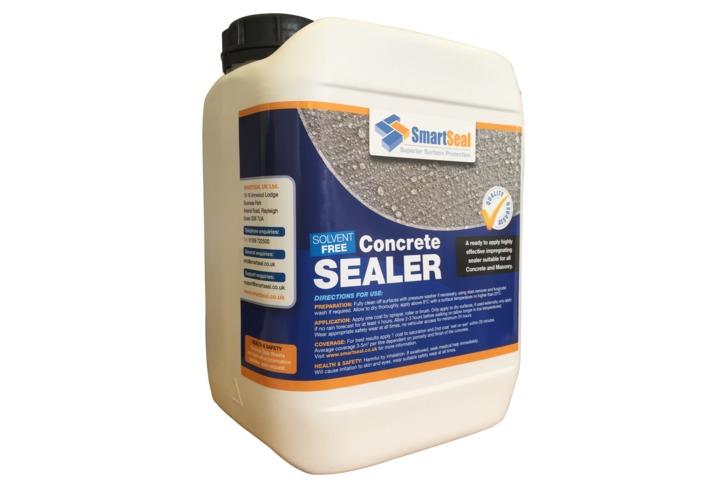 Concrete Sealer - BBA - EN1504-2 Approved, Breathable & Impregnating