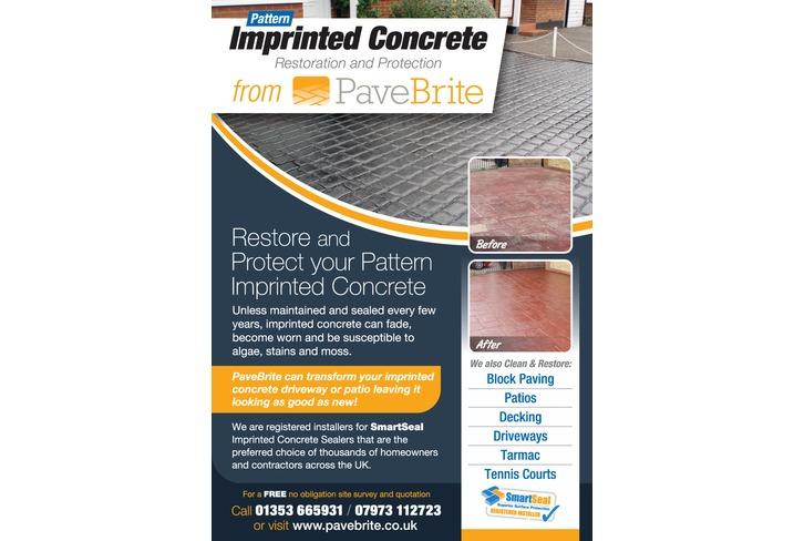 Marketing Tools Gt Imprinted Concrete Sealing Flyers